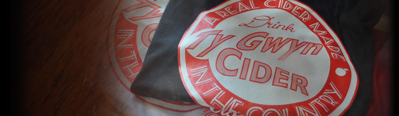 Ty Gwyn Cider T-shirts