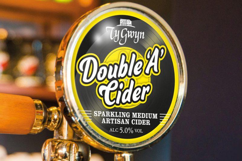 Ty Gwyn Double 'A' Cider