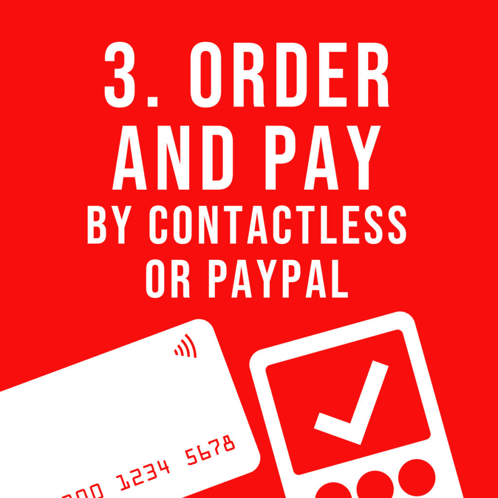 3. Order and pay