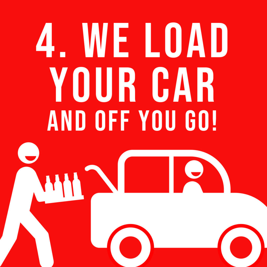 4. We load your car