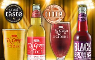 Ty Gwyn Ciders and their awards