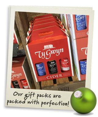 Ty Gwyn Cider gift packs